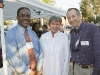 Royon Williams, BI Clerk Pam Frasor, and BI Chamber Director Greg Lochow