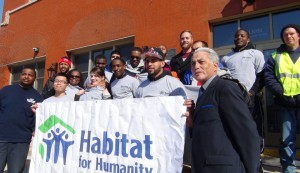 Habitat Volunteer Group Photo