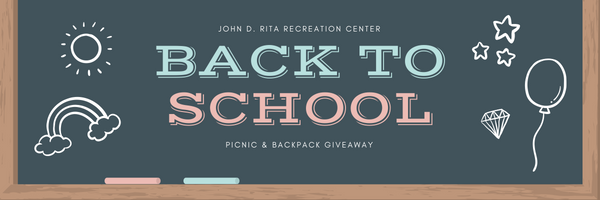 Back To School Book Bag Giveaway City Of Blue Island